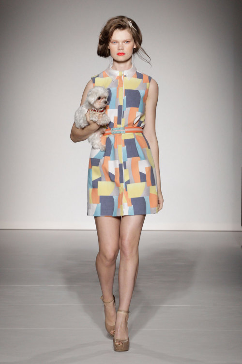 bohemea:  Kelly Mittendorf - Ashley Isham Spring/Summer 2013