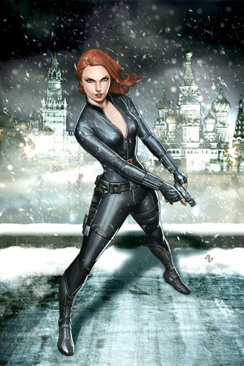 charactermodel:  Black Widow by Adi Granov [ Avengers movie ] (via The Heroic Age - Marvel Comics)