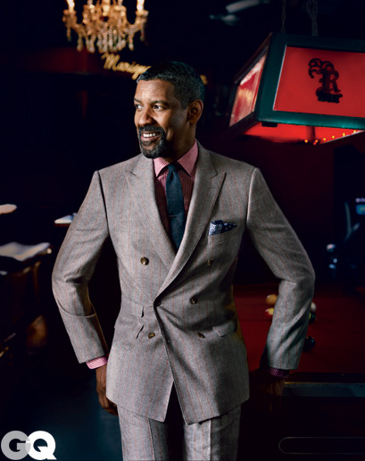 """I don't take myself that seriously. I take what I do seriously."" - Denzel Washington"