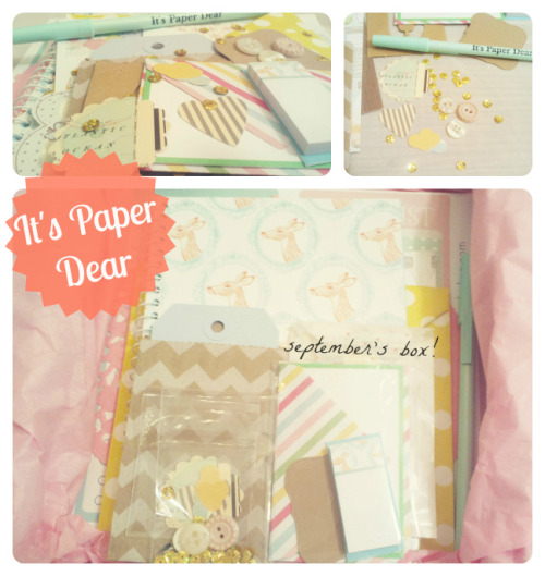 it's paper dear, september official reveal :}