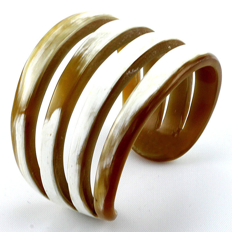 Horn cuff bracelet. On sale tomorrow @Fab.com #Fashion #Shopping #FashionWeek