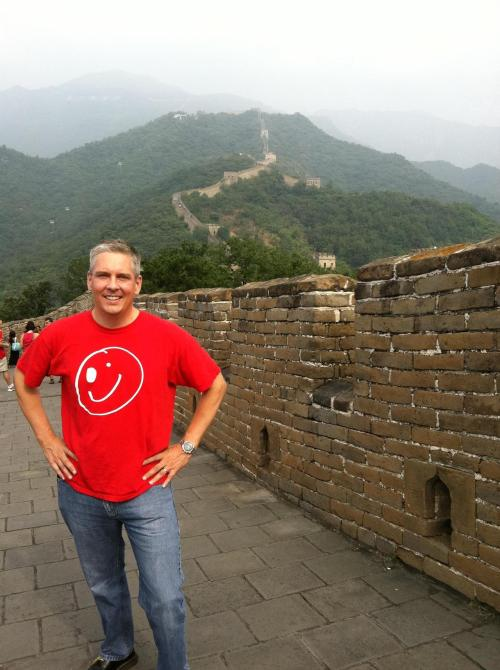 The Jerzey Derby Brigade reps at the Great Wall of China! JDB superfan Michael K. wears his JDB Lawless Lizzie shirt as he visits the Great Wall. First we take Morristown, NJ, then we take the world! :) Come see us this weekend as we take on the Susquehanna Derby Vixens on Saturday! Click the photo for deets!