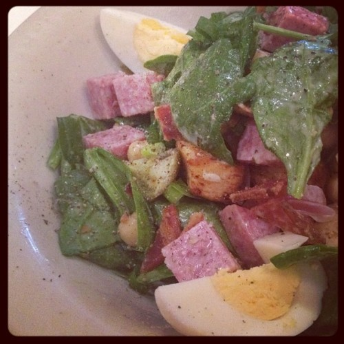 Lunch at @nordstroms #sixtheandpine: #chopped #salad #green #healthy #food #nom #foodie #westlosangeles #wla #meeting #instagood  (Taken with Instagram)