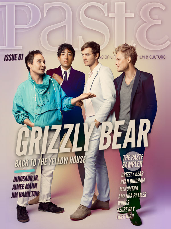 Grizzly Bear is on the cover of Paste Magazine Issue 61. Read the feature now (sign up required).