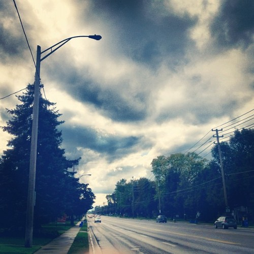 Another gloomy London day. #ldnont  (Taken with Instagram)