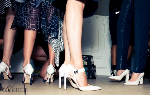 SHOWTIME AT PREEN SS13 - PHOTOGRAPHED FOR ALDO RISE BY @THECOVETEUR