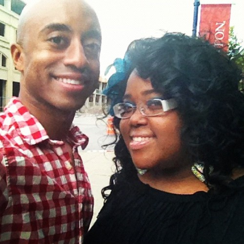 Me and the #bestest in #columbus #today #daycation with the #gusband #funtimes  (Taken with Instagram)
