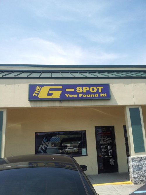 Congratulations, You Found the G-Spot Oh, you thought we meant that g-spot. No, no, we still don't know about that one.