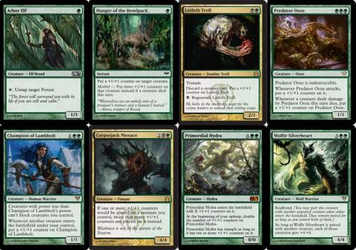 I would like to go somewhere Golgari after Return to Ravnica is released.  Preferably with Corpsejack Menace, Predator Ooze, and Primordial Hydra. • Provide some input here on on the MTG Realm blog where I've yattered a bit more about this direction. • Final build needs a pimp'n name too.