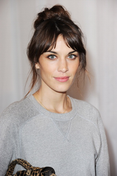 earlysunsetsovermonroeville:  Alexa Chung at the Mulberry Spring Summer 2013 Show during London Fashion Week at Claridge's on September 18, 2012 in London, England.
