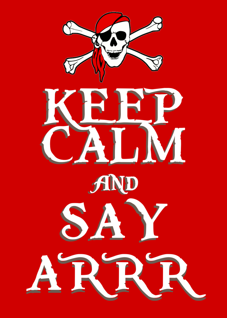 "digitalstig:  Arrrrrr….. Happy ""Talk Like a Pirate Day""me hearties!"