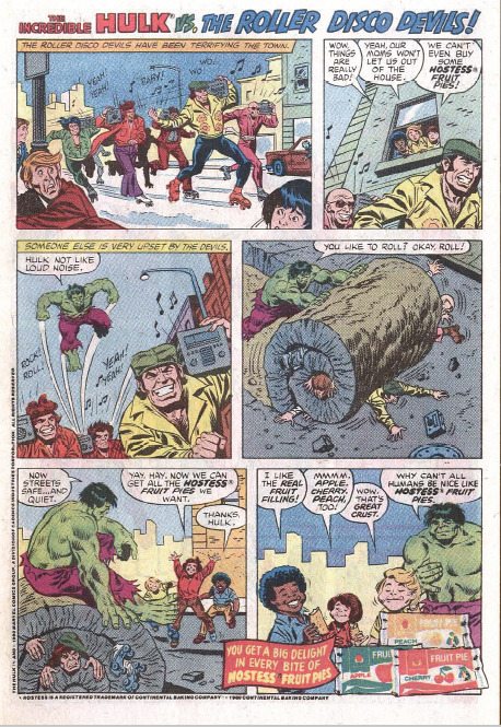 That's right Hulk, why can't all Humans be as nice as Fruit Pies