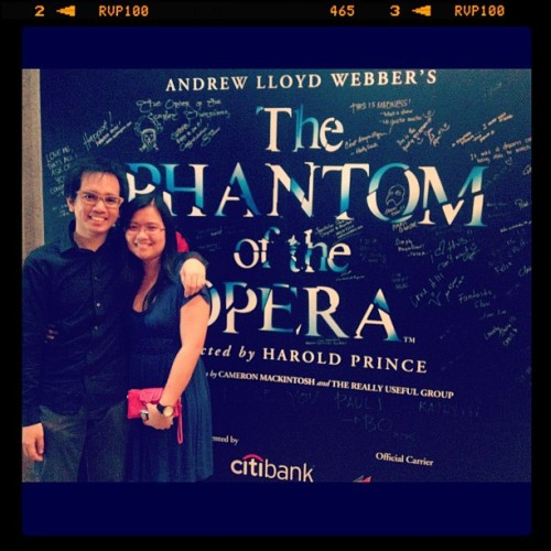Phantom of the Opera… (Taken with Instagram)