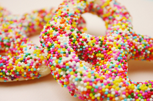 Sprinkled Pretzels