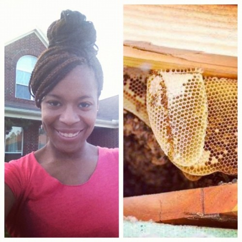 Been battling honey bees all day and boy am I exhausted lol!! Full documentation on my Facebook page! Facebook.com/shotbychristin.    #theSecretLifeOfBees #aDayInTheLifeOfABeeKeeper (Taken with Instagram)