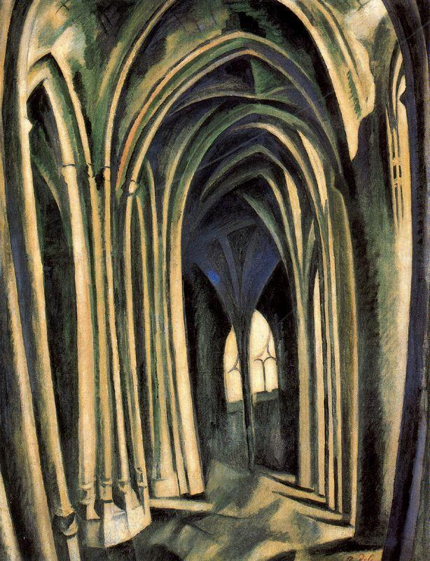 Robert Delaunay. Saint-Séverin No. 3, 1909-10