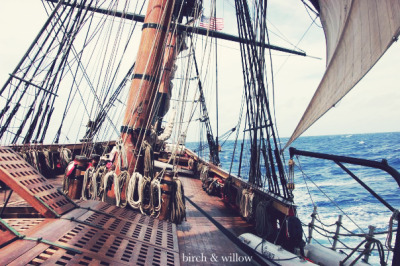 Good day to sail. Sailing from Florida to Bermuda aboard the HMS Bounty back in 2009.  I had this post in my drafts and was planning to post it soon. Unfortunately, I am now posting it for reasons I never expected. Last night, around 0430 ET, the crew of the HMS Bounty was forced to abandon ship off the shore of North Carolina due to Hurricane Sandy. All of the 17 crew made it into life rafts, and the Coast Guard is in the process of rescuing them. Latest news is that the Bounty has sunk.  It's a sad day for the sailing world to lose the last wooden square rigger in the world that was still sailing. Bounty was a beautiful ship, and I have so many amazing memories of my time aboard. My heart goes out to everyone on the crew, which includes some dear friends of mine. They are not all back to safety yet, but the Coast Guard is in the process of retrieving them from life rafts.  Also, I want to say a big thank you to the incredible men and women of the Coast Guard who are risking their own lives to save these sailors!