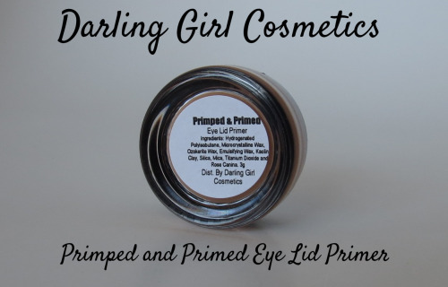 Easily my new favorite indie eyeshadow primer. It was fantastic on my oily hooded eyelids.