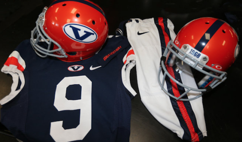 swooshspotter:  Virginia 1968 Throwback Uniforms  Love these.