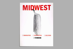 "Midwest Posters A set of posters created with Bernard Canniffe using a process whereby the images were generated by google search results for the term ""Midwest"". These stereotypical images were then used to create visual amalgamations that attempt to capture the true sense of what the Midwest may (or may not) be. The space at the base of the posters is reserved for venue information, similar to circus posters that announce dates and times specific to the location. In all, 7 different poster designs were created. 6 designs were screen printed by hand in editions of 60, with the 7th design to be produced this fall."