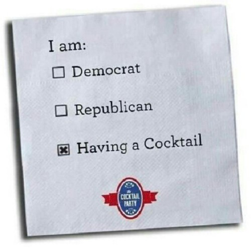 Political affiliation. (Taken with Instagram)