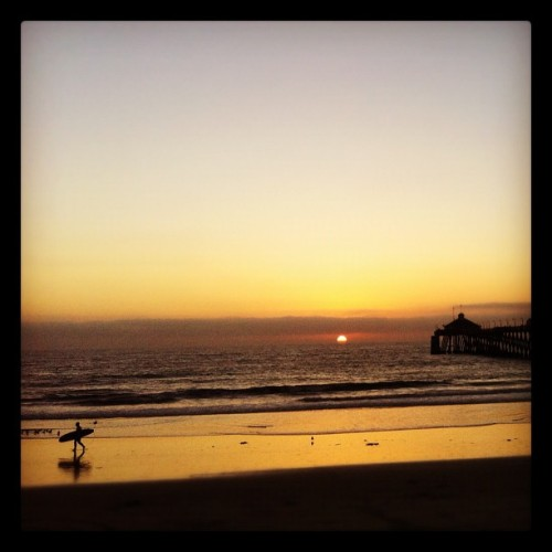 #beach #sunset #surf #surfer #IB #imperialbeach #ocean #pacific #pier #steveslefteye #steveosw #isstevestillalive #xs #instagram  (Taken with Instagram)