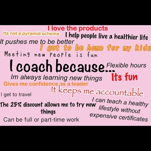 I'm asked a lot why I became a coach. What's in it for me. So if you are considering becoming a coach or wonder what it's all about here are my reasons… #fun #coaching #sahm #homebusiness #financialfreedom #beachbody #blessed #lifechange  (Taken with Instagram at Home)