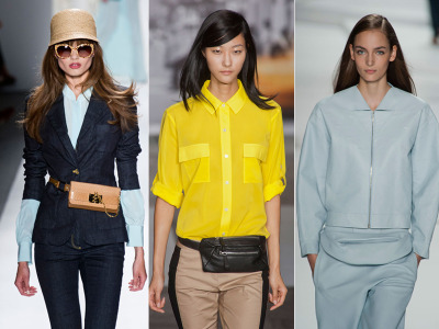 NYFW Spring 2013: Are Fanny Packs Making A Comeback?