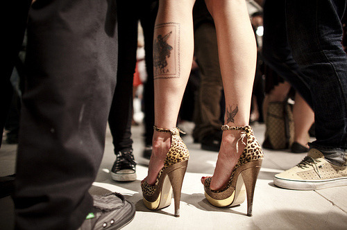Fashion,Gold,Heels,Tattoo,Wow,