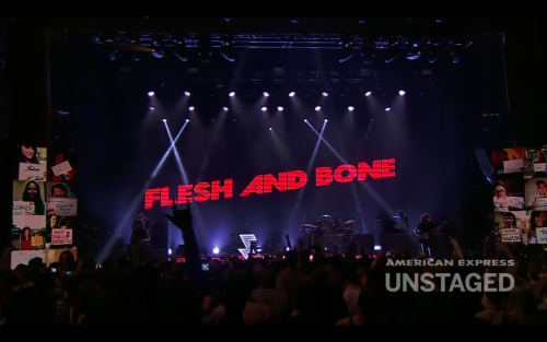 Flesh and Bone…and Rock and Roll :)
