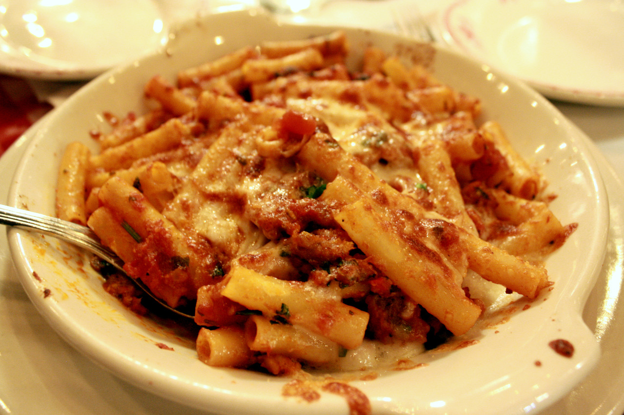 my favorite Italian dish: baked ziti! Submitted by: hellomichiko.tumblr.com