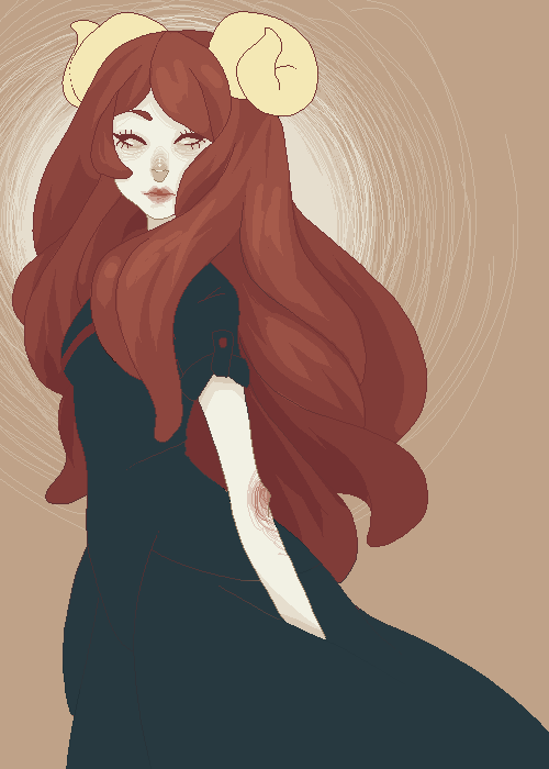 scare-o-dactyls:  i don't draw aradia enough just kidding shes all i ever draw