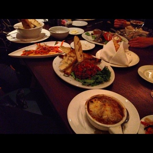 Work ladies night #food  (Taken with Instagram at Triple George Grill)