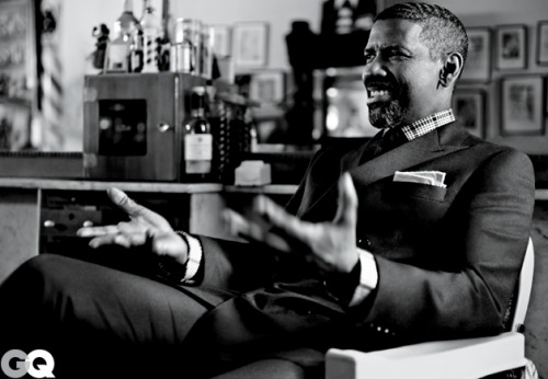 (via Denzel Washington GQ Cover Shoot October 2012: Celebrities: GQ)