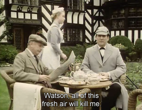 Jeremy Brett was tumblr before tumblr was tumblr.