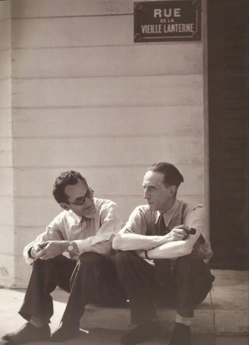Man Ray e Marcel Duchamp