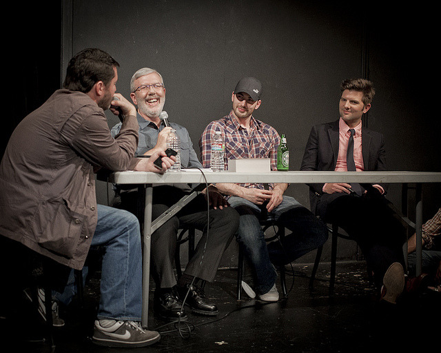 laughterkey:  liezlwashere:  UCB-LA | Doug Loves Movies | 09.18.12  YES.