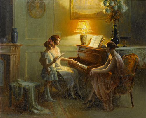 Delphin Enjolras - By the piano