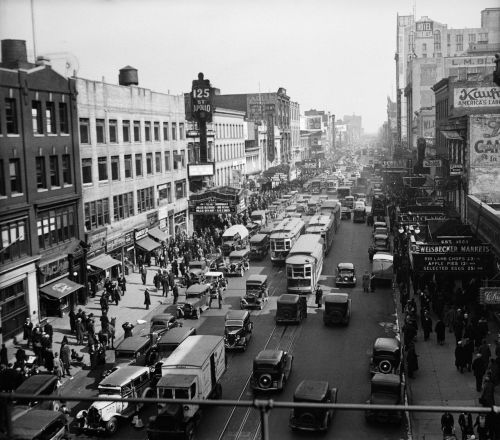 125th Street, Harlem, 1935