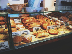 Pastries. Yummy pastries.