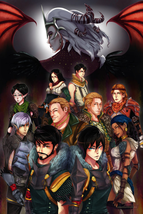 thegeek531:  Dragon Age 2 by ~mangOKappu