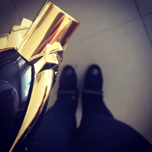 All black - perfume of the day - Fame by Lady Gaga & new isabel marants #potd #isabelmarant (Taken with Instagram)