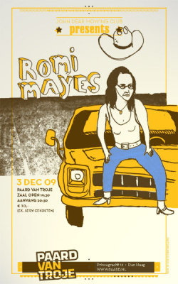 """Romy Mayes Gigposter"" by Biklesmith Press"