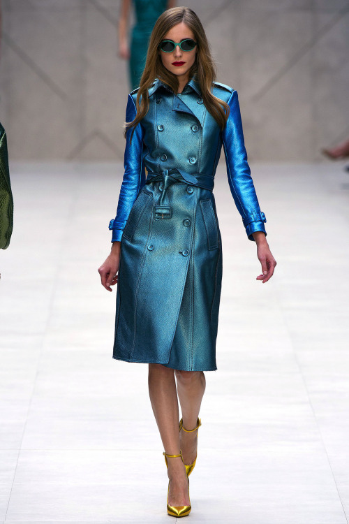 journaldelamode:    London Fashion Week SS 2013, Burberry Prorsum show, Camilla Babbington