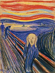 Edvard Munch's The Scream will be on display at the Museum of Modern Art for six months. What an opportunity for those living in New York.