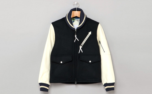 indigoandcloth:  NANAMICA STADIUM JACKET