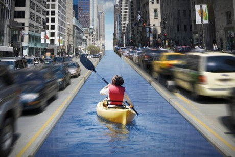 "massurban:  ""Let's swim to work! Waterways surrounding cities were once filled with toxic industrial sludge. Now they're the new recreation frontier"