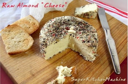 theveganway:  Raw almond cheese