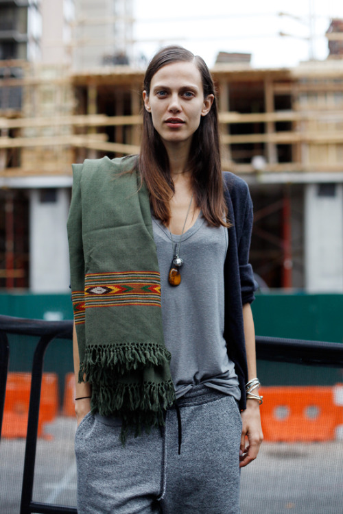 (via ALL THE PRETTY BIRDS: NYFW SS13 // Aymeline Valade)