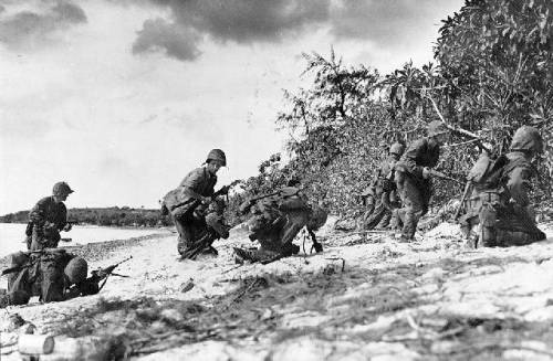 Beach assault, Saipan, June 1944